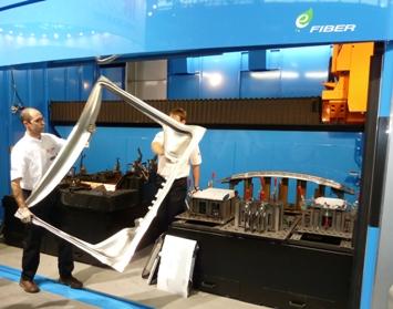 Rapido e-fiber op EuroBlech in Hannover