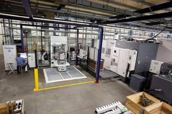 FMS-systeem van Fastems bij Eurotech in Venlo-Blerick
