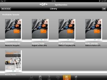 GF AgieCharmilles iPad Apps EMO Hannover 2011