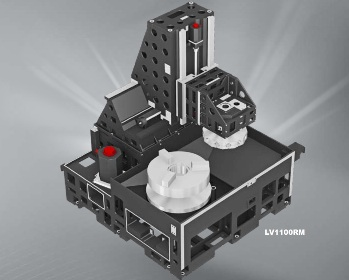 LV1100RM verticale draaimachine van Hyundai Kia