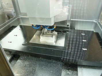 Carbon tafel bij Sodick op EMO