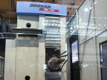 Doosan DBC 110S op EMO