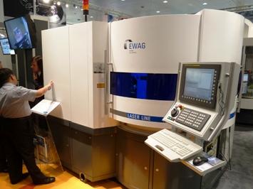 Ewag Laser Line op EMO 2011