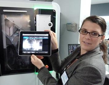 Datron met iPad besturing