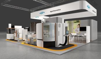 GF AgieCharmilles stand Techni-Show 2012