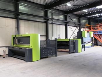 Safan machines bij Van Zijl Constructie