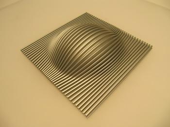 3D gevormd oppervlak gemaakt door hydroforming