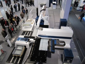 Stand Trumpf EuroBlech 2010 Hannover