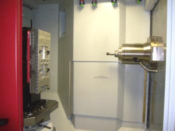 Een bewerkingscentrum in actie bij Radebeul