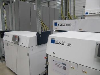 16 kW schijflaser bij Trumpf in Ditzingen (D)