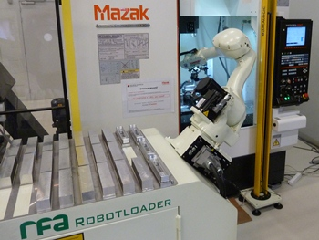 RFA Robotloader bij Mazak Leuven