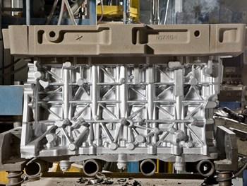 Gegoten aluminium voor BMW-dieselmotoren