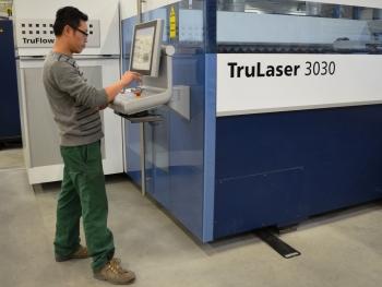 Trumpf 3030 laser Meyn