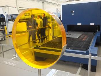 350 x 263 Lens met chip Trumpf Intech lasersnijden