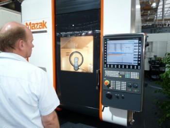 Siemens Sinumerik bij Yamazaki Mazak op EMO Hannover 2011
