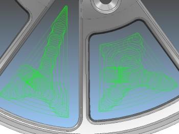 vortex-roughing Delcam EMO Hannover 2013