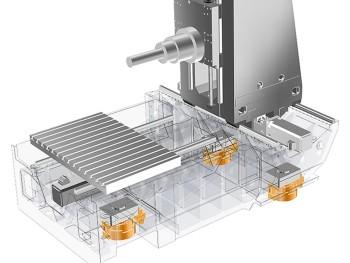 Aufstellelement actieve stabilisatie Fraunhofer IWU