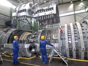 Irsching gasturbine Siemens