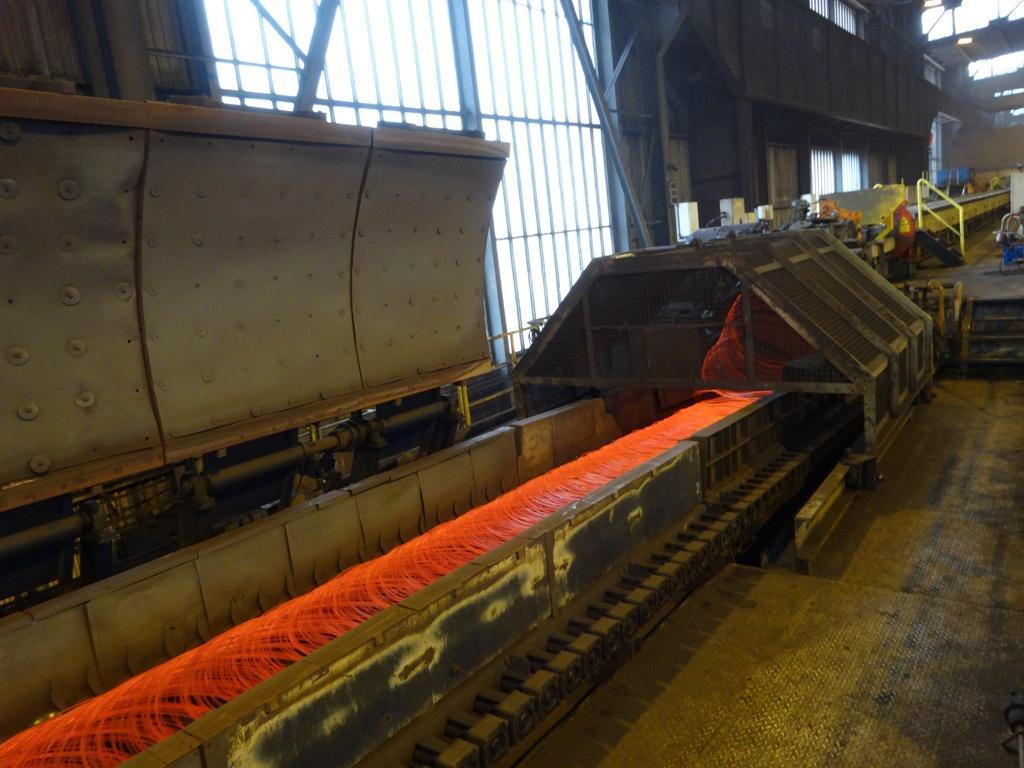 FN Steel, dat dit jaar ook exposeert op de wire, liet tijdens de Tube en wire persconferentie zien hoe draad gevormd wordt.