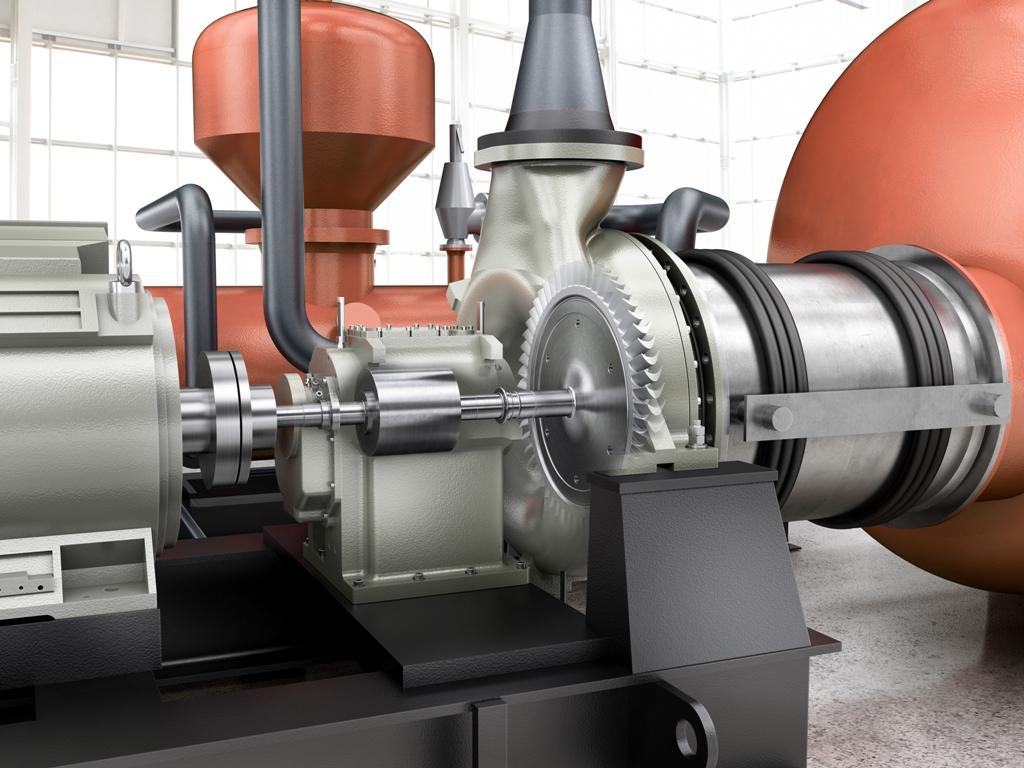 De ORC maakt gebruik van silicone oliën voor het aandrijven van de turbine