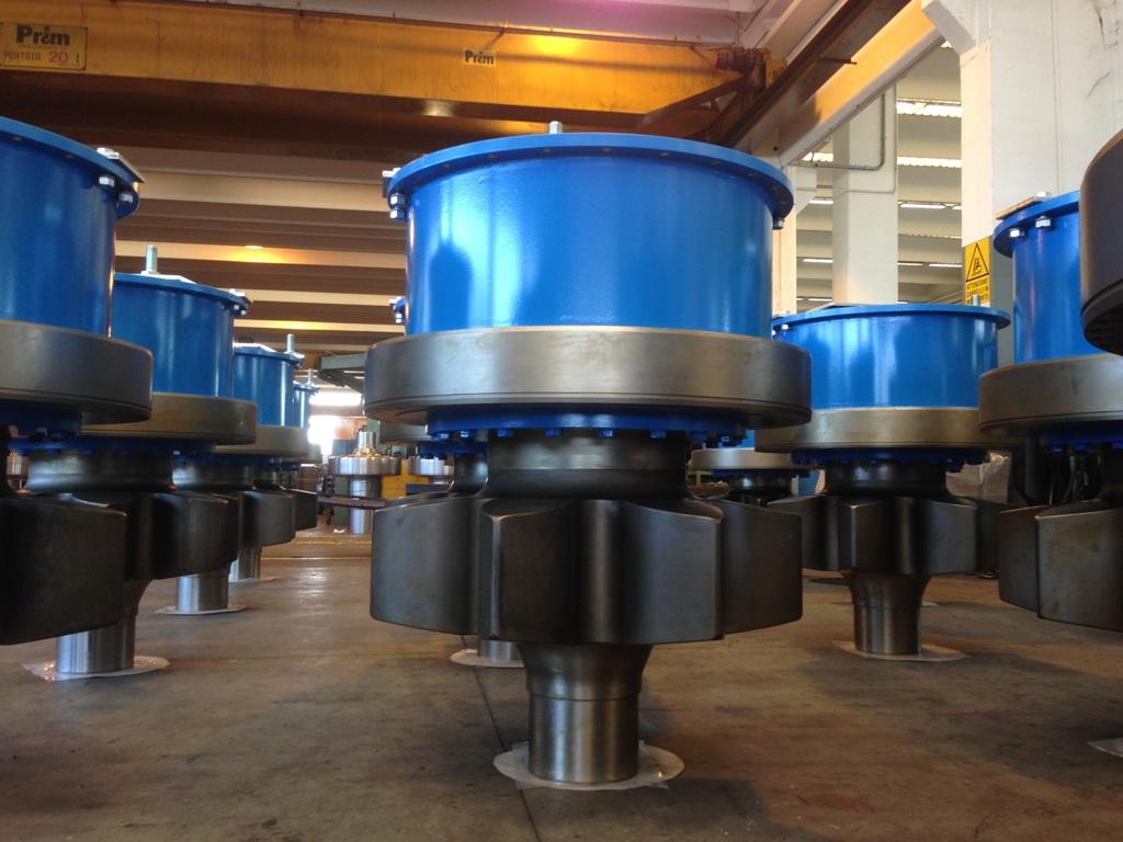 Rondsels (pinions) geleverd door Formaco ten behoeve van GustoMSC klimsystemen voor booreilanden