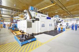 Liebherr-Aerospace Lindenberg werkt al met drie grote portaalfreesmachines van Droop+Rein