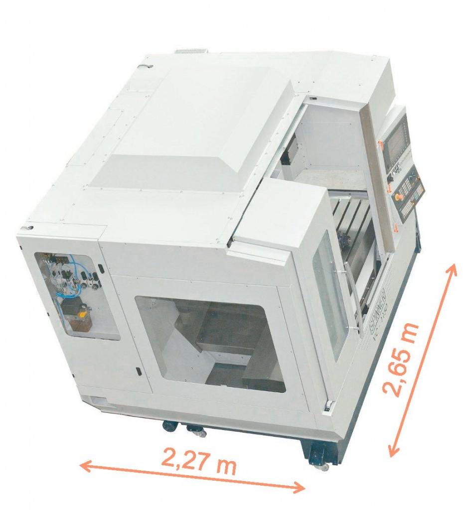 De VC1150 van Spinner is een compact machine
