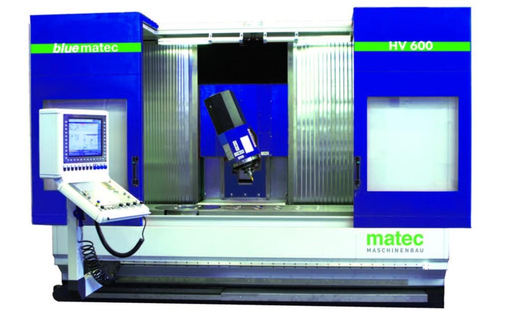 De bluematec HV 600 presenteert Matec als standaard machine op de AMB in Stuttgart (D)