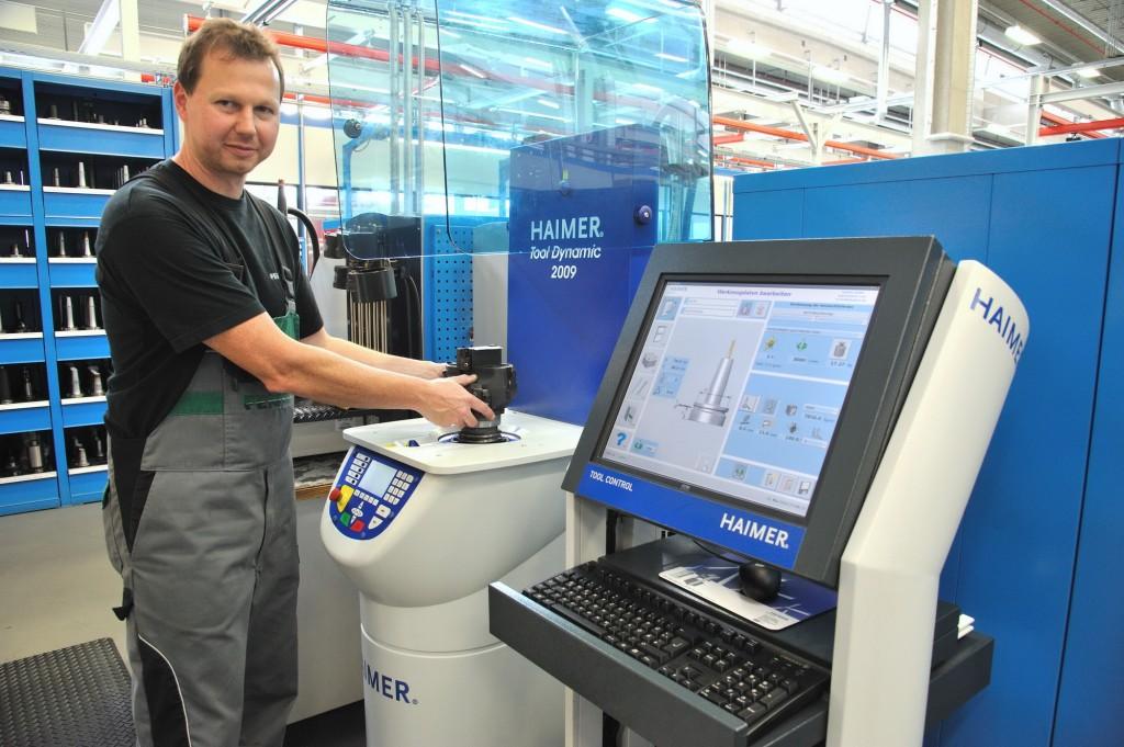 De Haimer balanceerinstallatie Tool Dynamic 2009 Comfort Plus bij Fendt