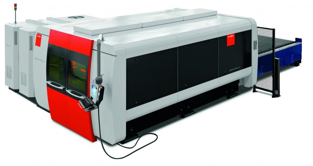 De Cut Control optie detecteert vroegtijdig de vorming van plasma en past automatisch de snijsnelheid aan (foto: Bystronic)
