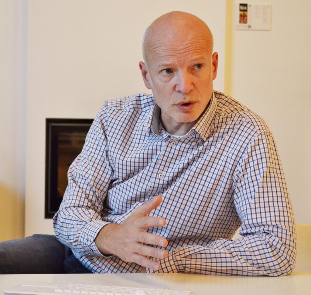 """Directeur 'operations' Thomas Luiten: """"Kracht van ondernemerschap is terug"""" (foto: Marian Oosterink)"""