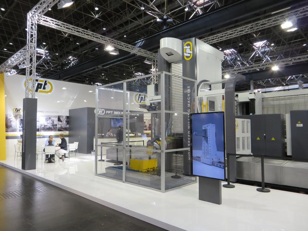 Volhydrostatische frees- en kotterbanken van machinebouwer FPT uit Italië