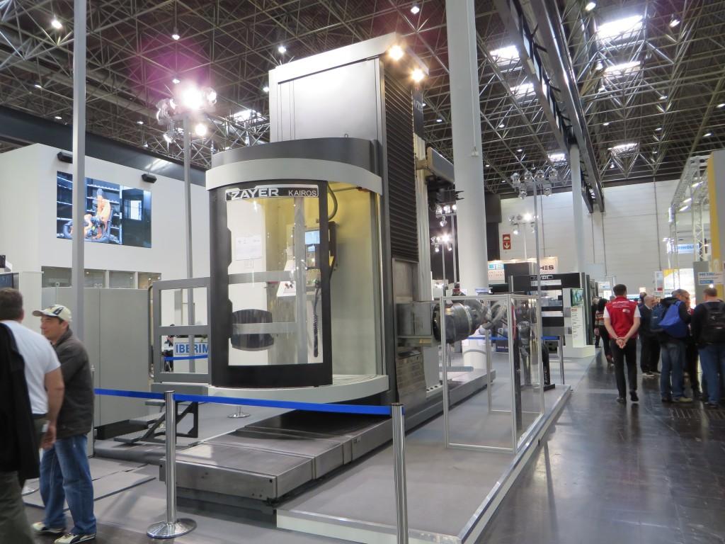 Een Zayer Kairos bewerkingscentrum. Zayer is toonaangevend voor de Spaanse machinebouw.