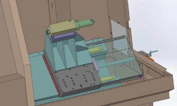Optioneel is de losse kop ook als CNC-as uit te voeren (foto: Benzinger)