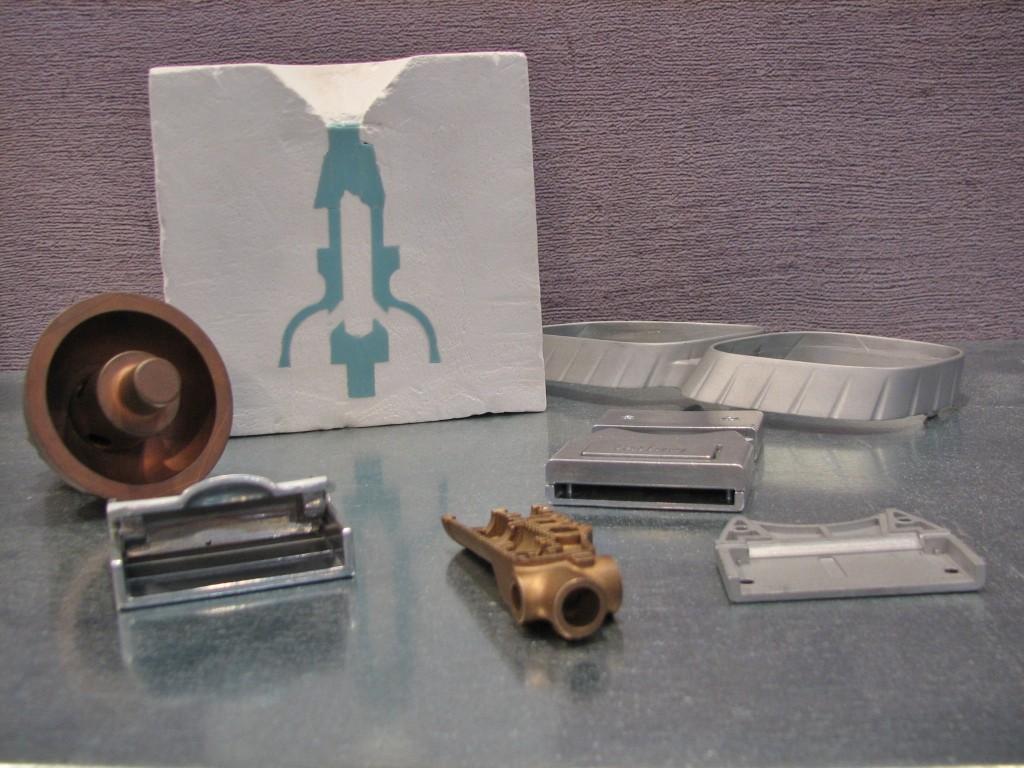 RP2 in Etten-Leur biedt de mogelijkheden tot het 3D printen van kunststofmodellen, die op hun beurt dienen als basis voor het vacuümgieten van metalen delen (staal, RVS en non-ferro). Men zou hier kunnen spreken van 'verloren 3D print' technologie, als variant op het 'verloren was' procedé. Met name interessant voor complexe en dunwandige producten in kleinere aantallen (prototypes en aanloopseries)