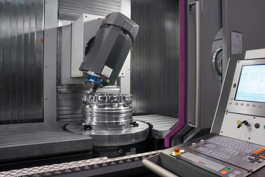 Bendertechniek demonstreert tijdens de Demoweek een machine van Ibarmia uit de 'Extreme' serie. De Ibarmia ZVH58/ L4000 heeft een NC-draaitafel en een Y-as van 1000 mm (foto: Bendertechniek)