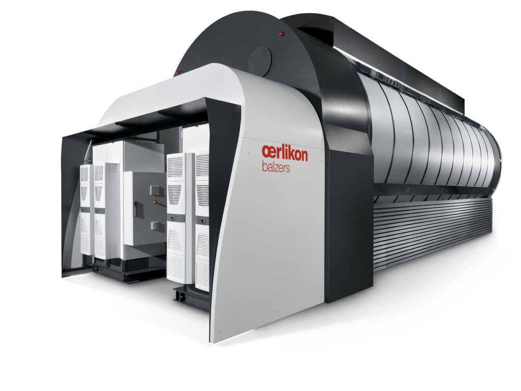 Met de nieuwe installaties van Oerlikon Balzers kunnen ook grotere onderdelen behandeld worden (foto: Oerlikon Balzers)
