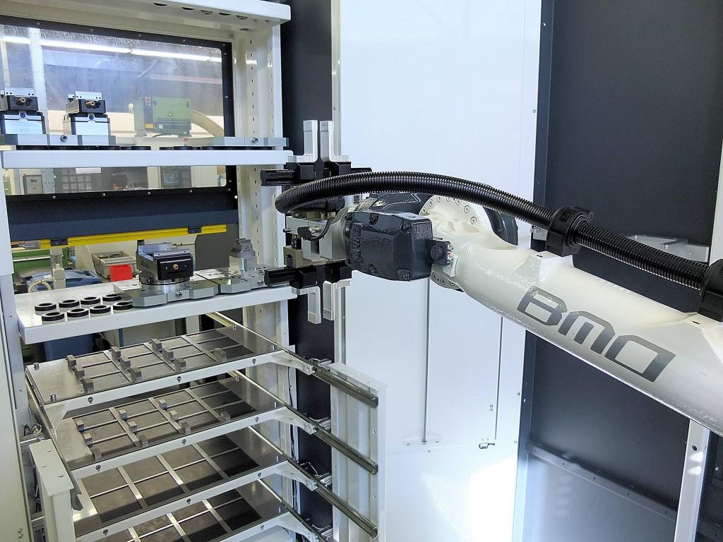 De belangrijkste reden om te investeren in een robotcel van BMO is het vergroten van de flexibiliteit in de productie