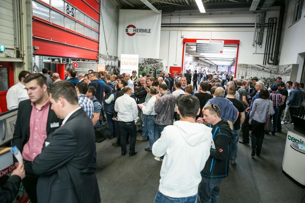 De Hausausstellung van Hermle is vorige week bezocht door 2.600 bezoekers (foto: Hermle)