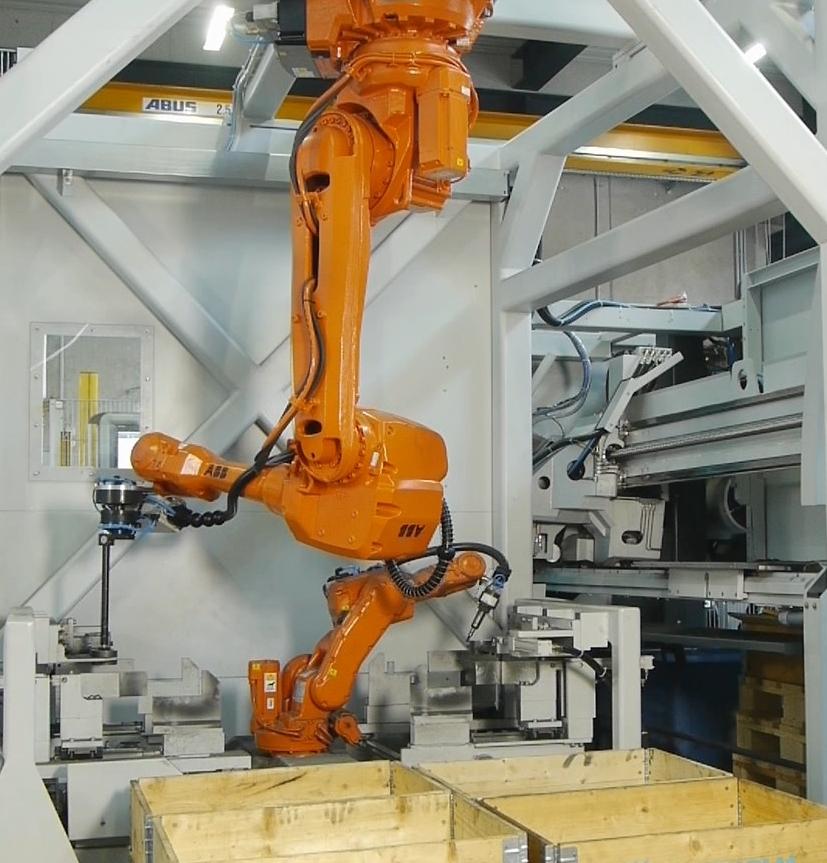 Met het Kastosort sorteersysteem kunnen werkstukken geautomatiseerd worden verwijderd en nabehandeld