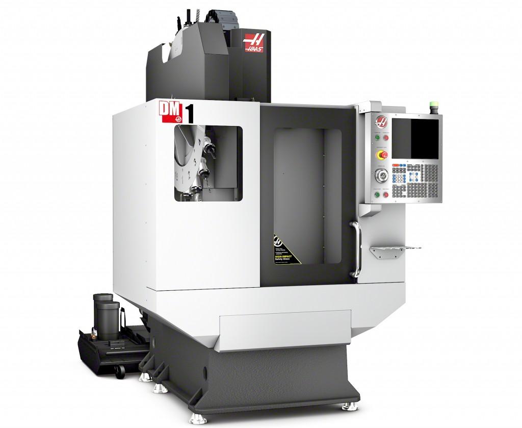 Op EMO zal ook het nieuwe, snelle  Haas DM-1 snel boorfreescentrum met SK-40 hoofdspil te zien zijn