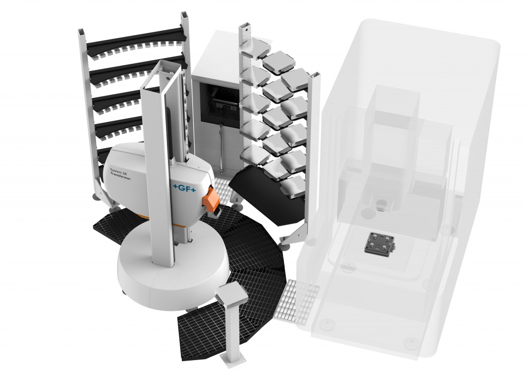Het Transformer System 3R van GF Machining Solutions is een opschaalbaar automatiserings-systeem op basis van gestandaardiseerde modules. De open, flexibele architectuur is een van de voordelen van dit systeem