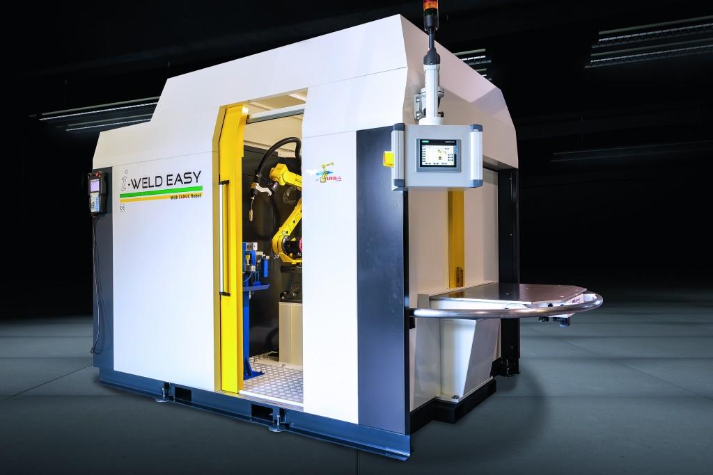 De i-Weld Easy combineert de kennis van lassers met een vorm van automatisering (foto: Fanuc)