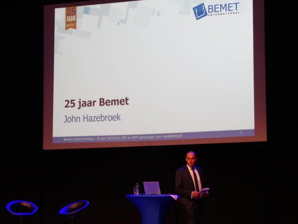 John Hazebroek vertelt over de historie en de toekomstplannen van Bemet