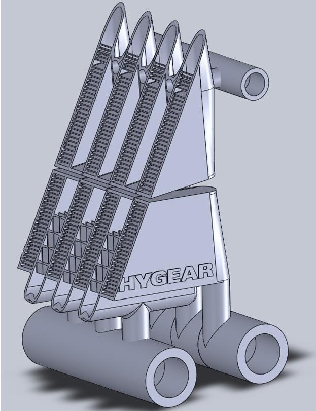 Met 3D-printen kunnen complexe en compacte metalen componenten vervaardigd worden