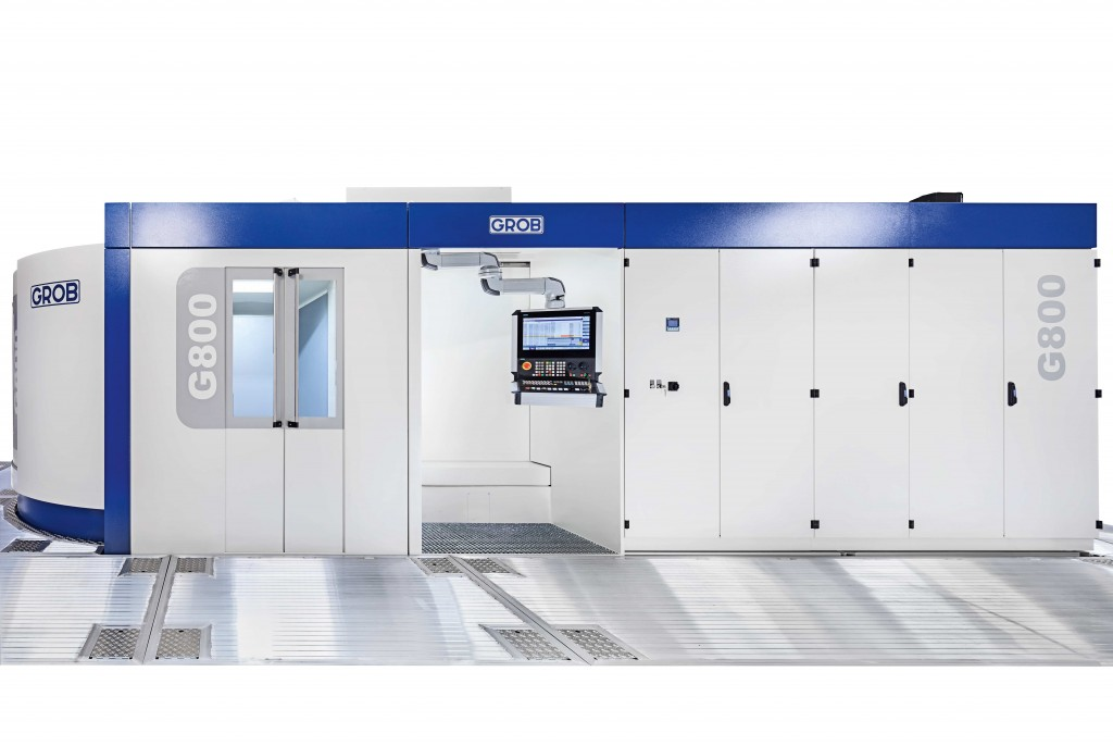 De G800 heeft een bereik van 1.600 mm x 1.200 mm x 1.300 mm (XxYxZ) (foto's Grob)