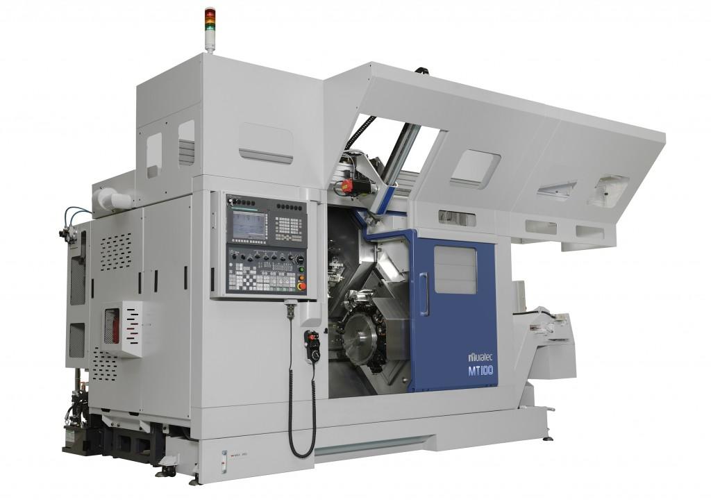Een MT100 draaimachine van Muratec