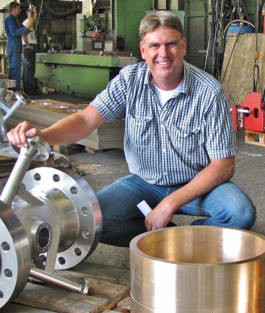 """Productieleider Cok Slingerland van Machinefabriek Vos: """"Je wilt ook een beeld krijgen hoe een machine er uitziet in de praktijk en hoe het werkt."""""""