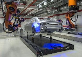 Audi productie