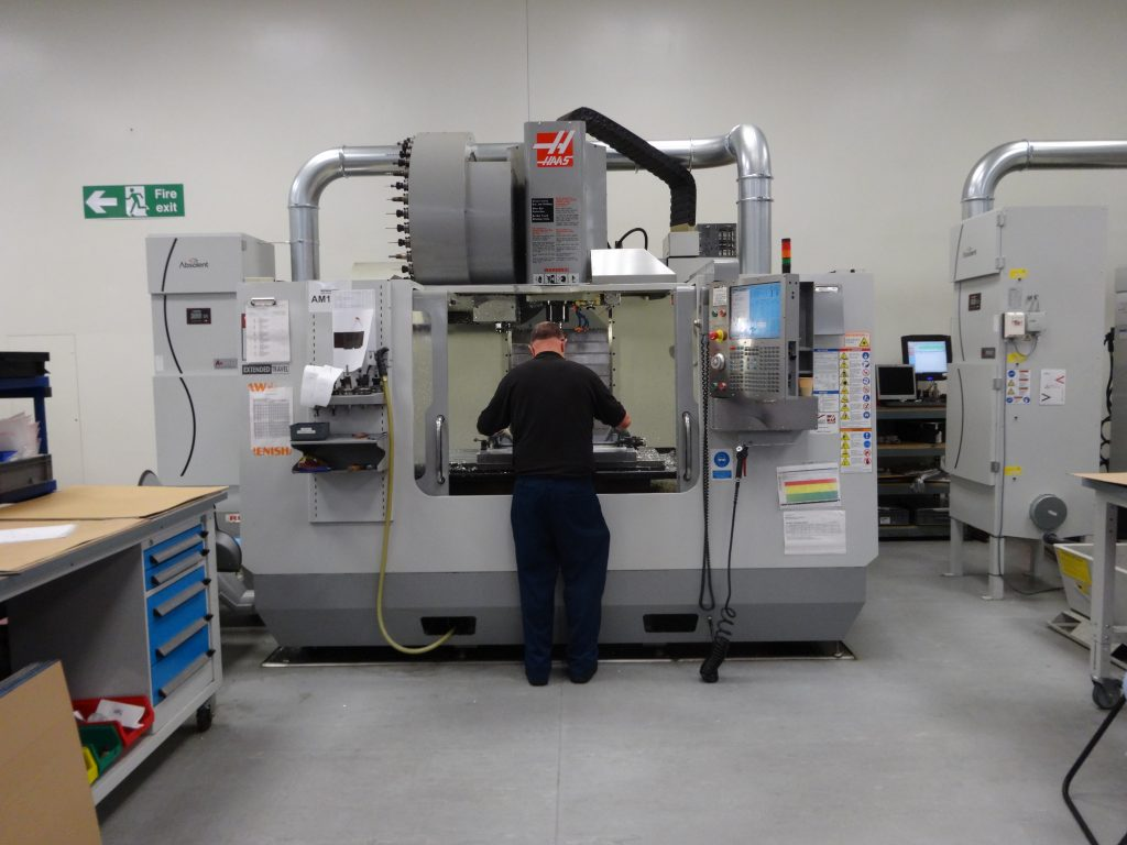 Renishaw Stonehouse fabriek in UK